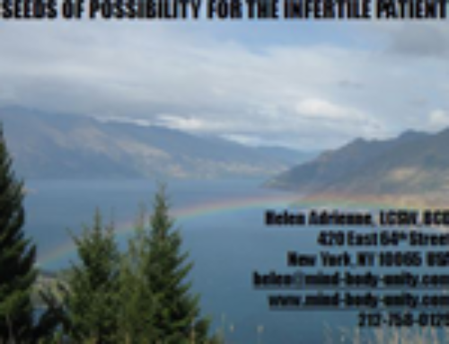 "Resilience: The ""Seed"" of Possibility for the Infertile Patient"
